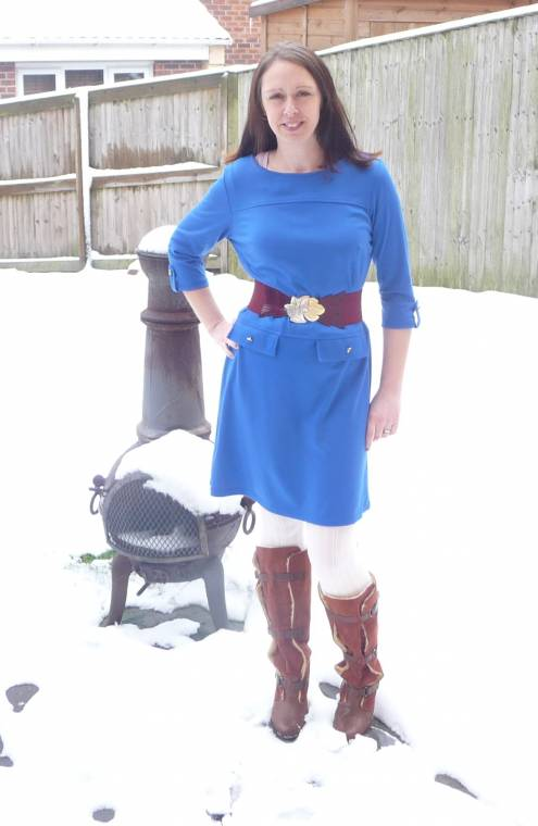 Snow Dress: Warm And Cosy With A Fleece Lining!