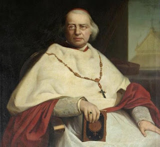 19th century oil painting of Cardinal Nicholas Wiseman