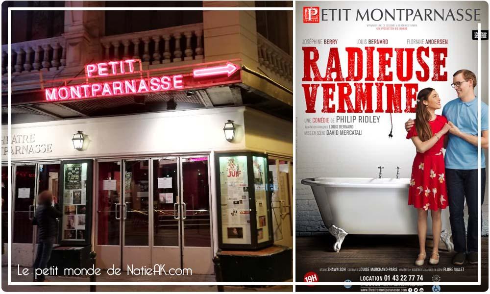 Radieuse vermine au théâtre Montparnasse