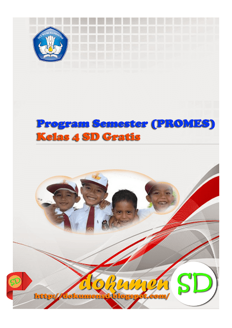 Unduh Program Semester (PROMES) Kelas 4 SD Gratis