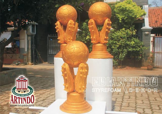 Pembuatan Replika Piala Torabika Bhayangkara CUP