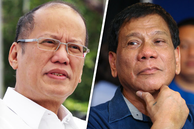Finally! PNoy calls up Duterte