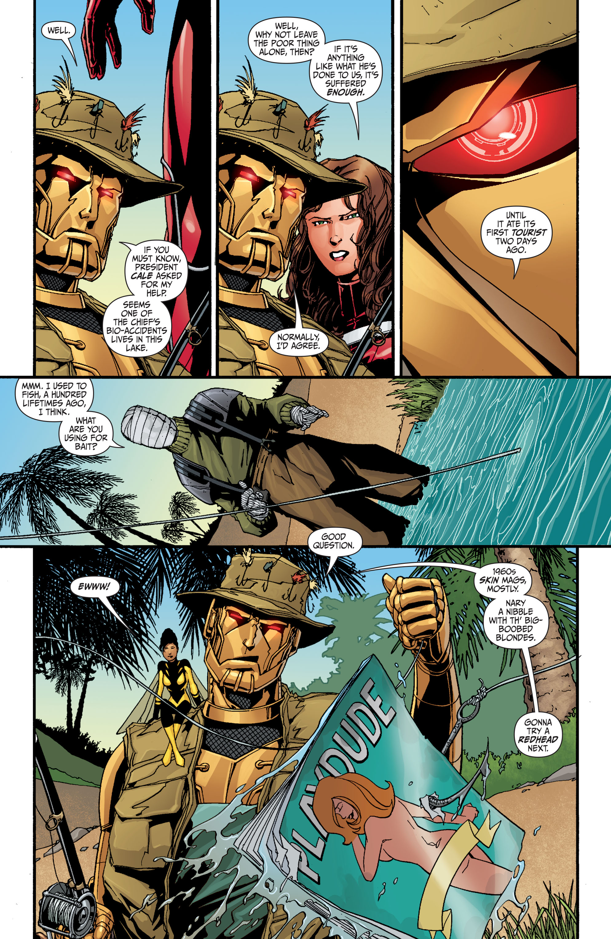Read online Secret Six (2008) comic -  Issue #30 - 11