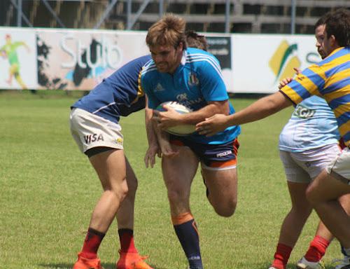 Nicolás Proto, capitán del seleccionado tucumano de rugby.