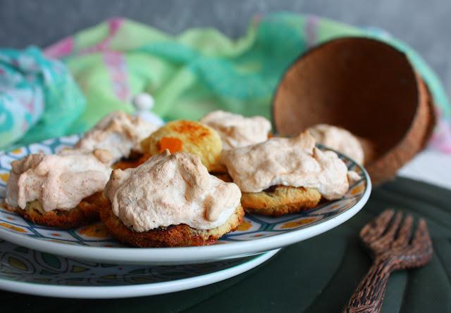 dolcetti di panettone Muzzi con annas e cocco