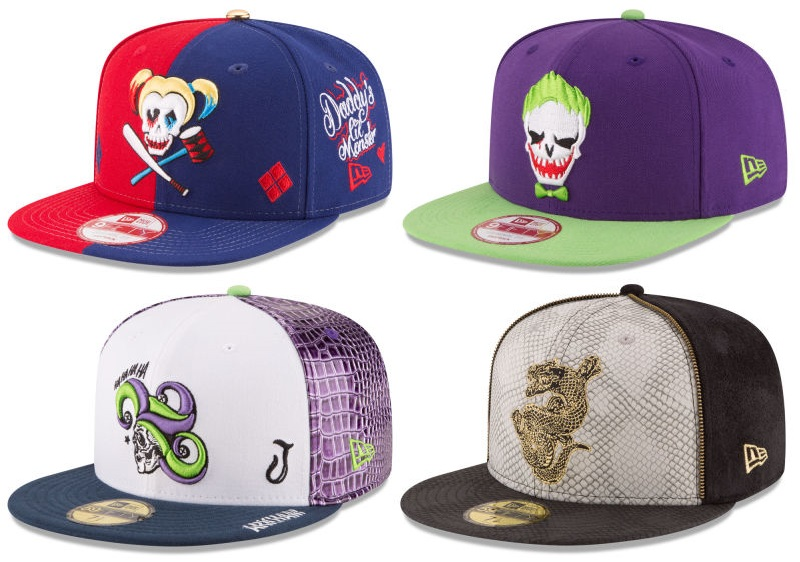 The Blot Says...  Suicide Squad Movie Hat Collection by New Era Cap 9c7c3749c0f