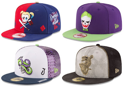 New Era x DC Comics Suicide Squad Hat Collection