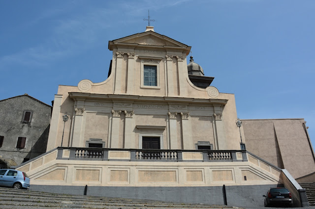 Bracciano church