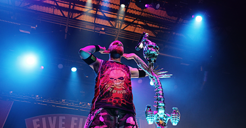 Five Finger Death Punch Medicine Hat Alberta