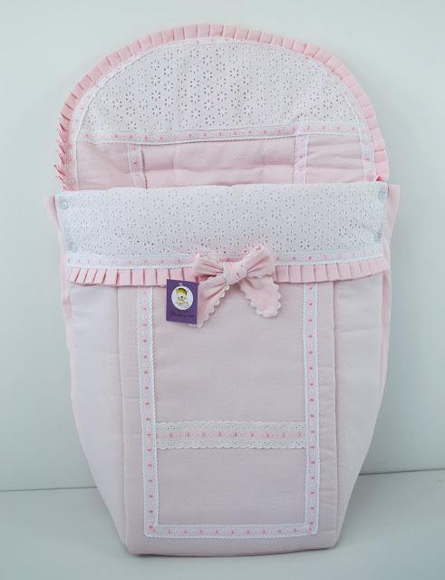funda silla Bébé Confort Elea rosa blanco