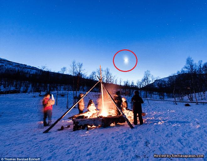 UFO Terakam Di Ruang Udara Norway