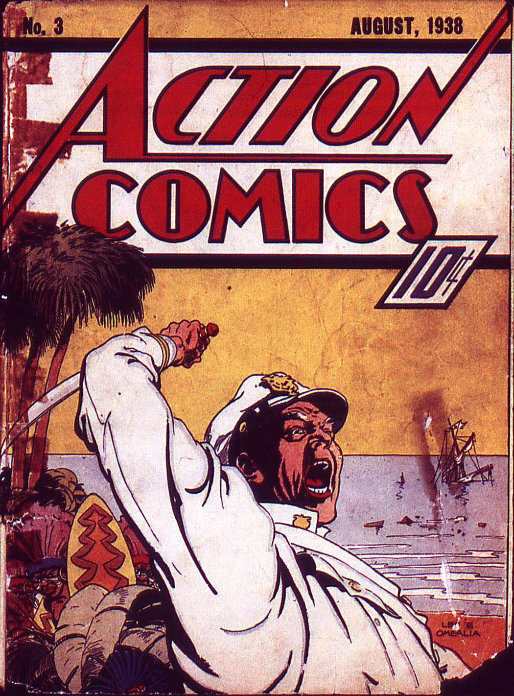 Action Comics (1938) 3 Page 0