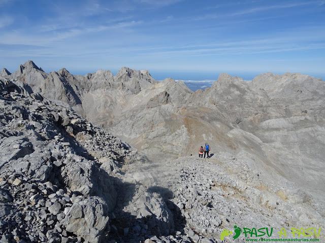Torre Blanca: Bajando a Cabaña Verónica