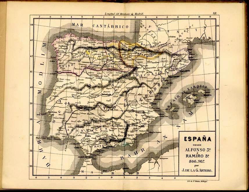 Mapa De España Bonito.Recuerdodeunolvido Espana