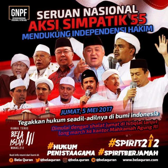 GNPF-MUI Perkirakan Peserta Aksi Bela Islam 55 Tembus 3,5 Juta Orang