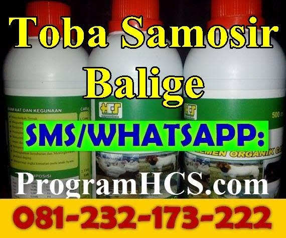 Jual SOC HCS Toba Samosir Balige