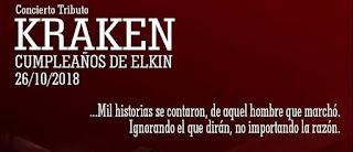 Concierto Tributo Kraken | Cumpleaños Elkin Ramírez...