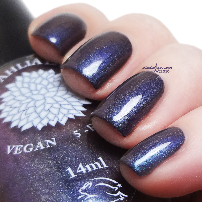 xoxoJen's swatch of Black Dahlia Steel Magnolia