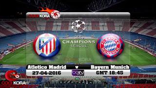 Bayern Munich v Atlético Madrid