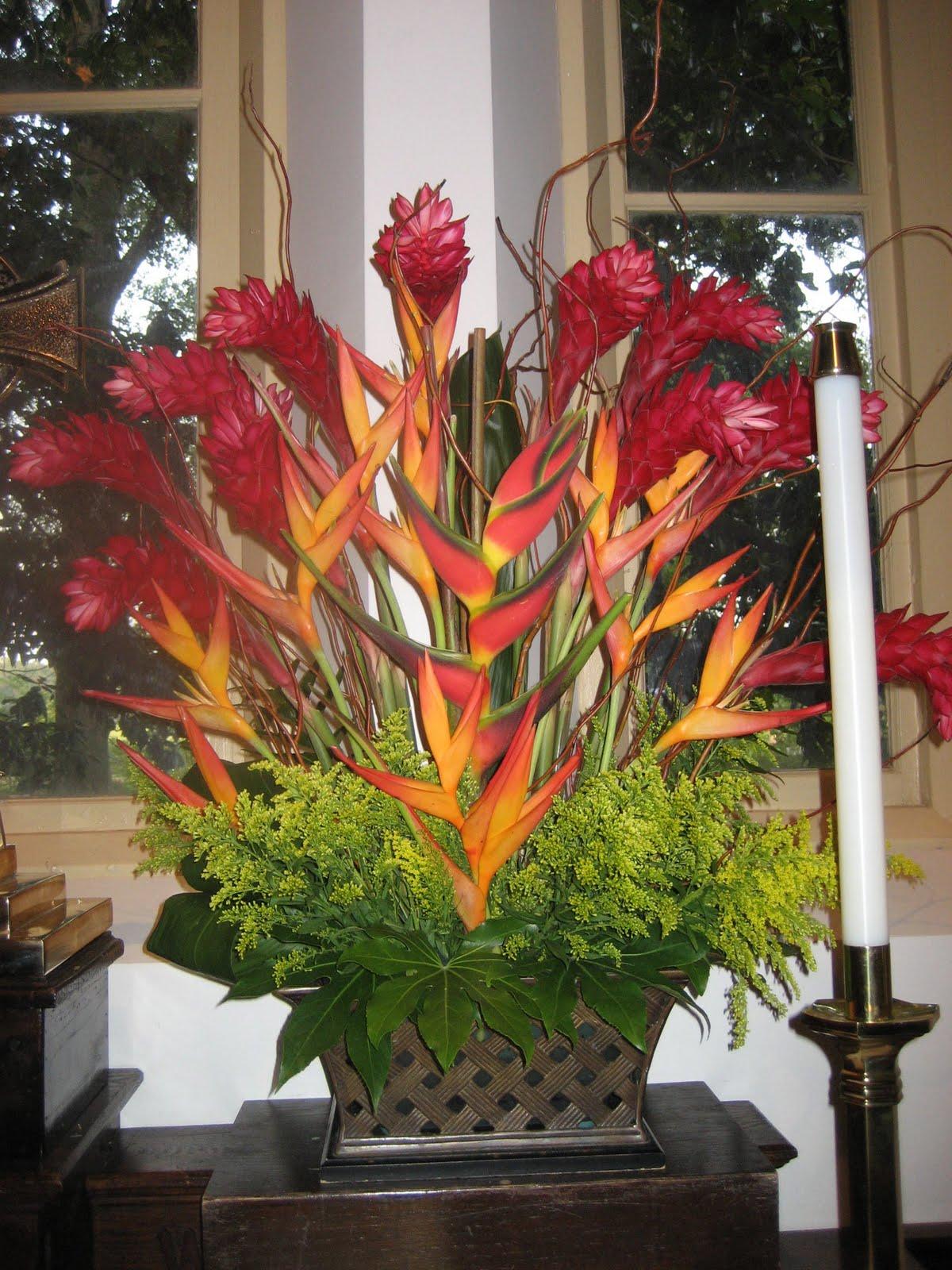 Pentecost Flower Arrangement Simple Gardening Flower And Vegetables