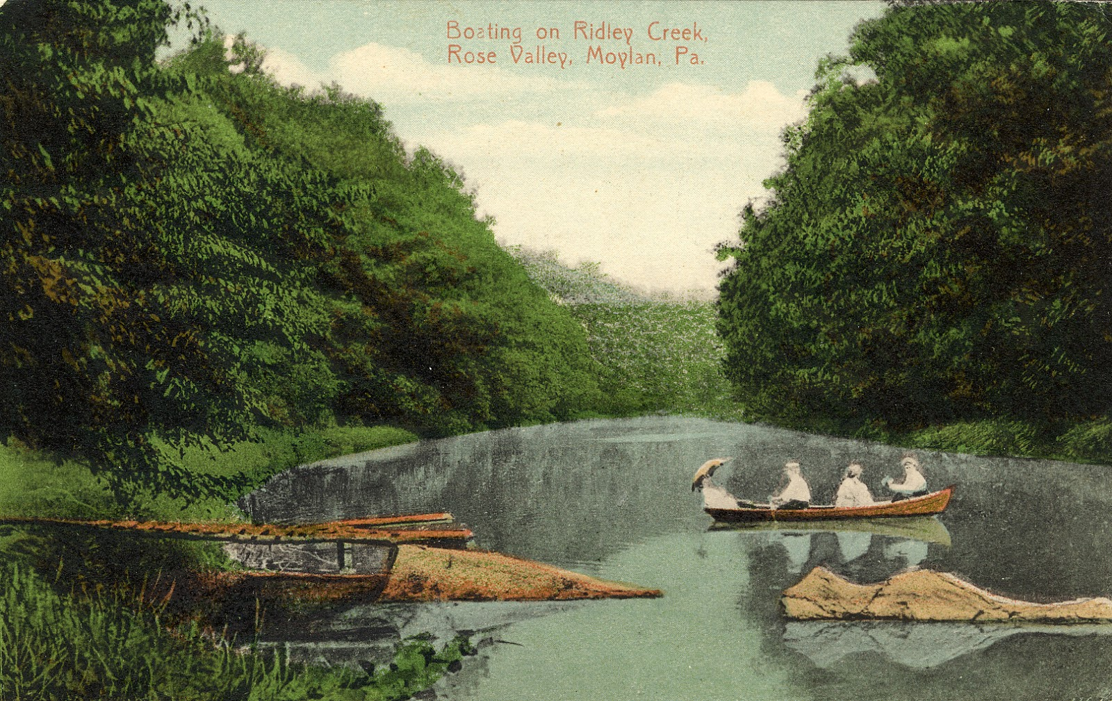 Delaware County History: The Beauty of Rose Valley 100 ...