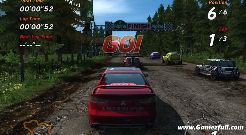 Sega Rally Revo pc full español