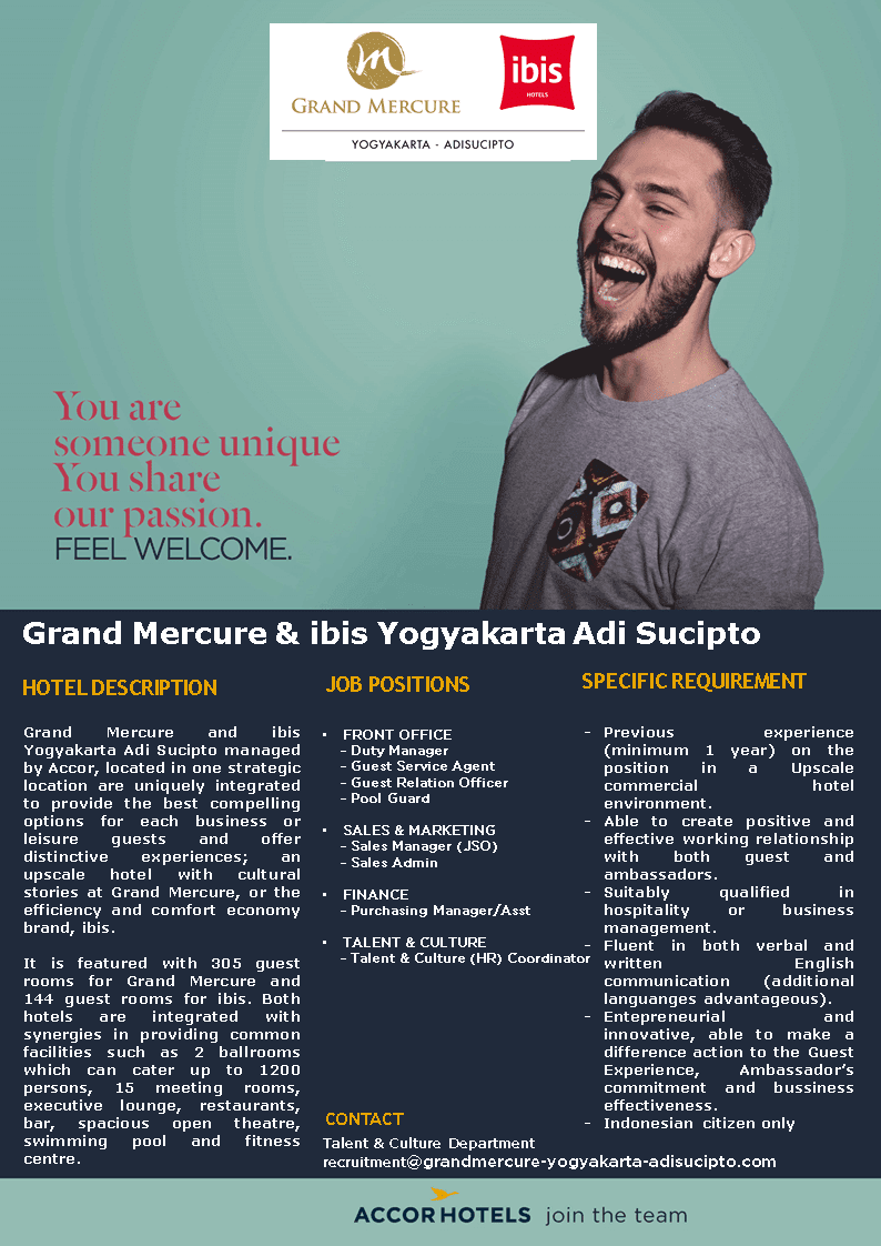 Grand Mercure Ibis Yogyakarta Adi Sucipto March 2019