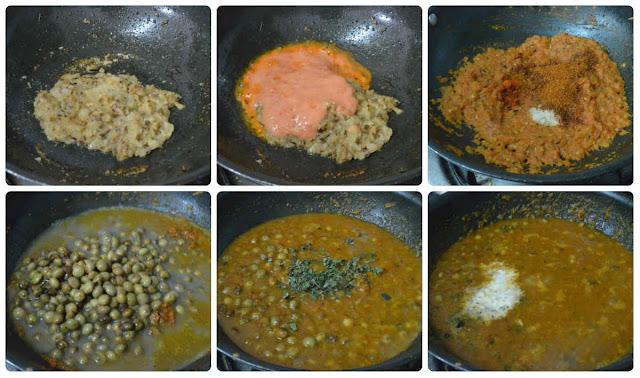 Hasi Togari Kaalu Masala/Togarikalu gravy/Tuvar sabzi (North Indian style)