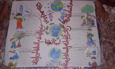 مشروع البيئة السنة الرابعة ابتدائي الجيل الثاني