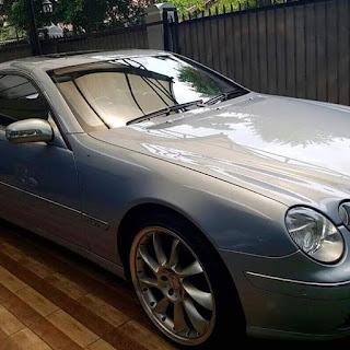 Spesialis Pedagang Mobil Mewah Bekas : Forsale Silver CL500 Benz 2001 - JEKERDAH