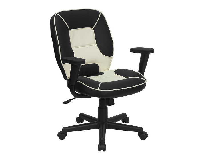 Offex Mid Back Vinyl Steno Executive Office Chair