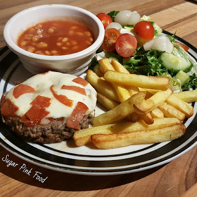 Pizza Topped Burgers recipe slimming world