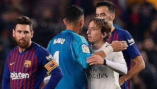Barcelona vs Real Madrid 1-1 Video Gol Highlights