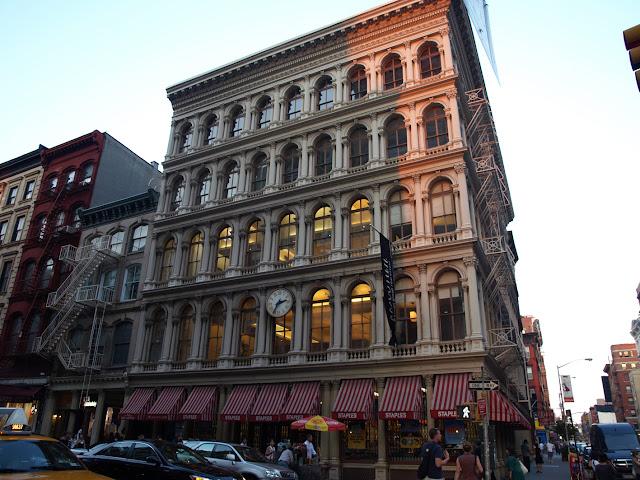 Edificios Cast Iron en el Soho Manhattan