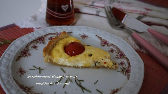 çeri domatesli tart