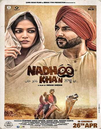 Poster Of Pollywood Movie Nadhoo Khan 2019 300MB HDRip 480P Full Punjabi Movie