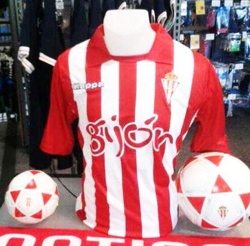 Nueva camiseta de Kappa del Sporting  a27398a308e1b