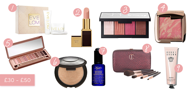 Beauty Gifts £30-£50