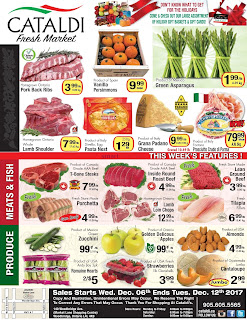 Cataldi Fresh Market weekly flyer December 6 - 12, 2017