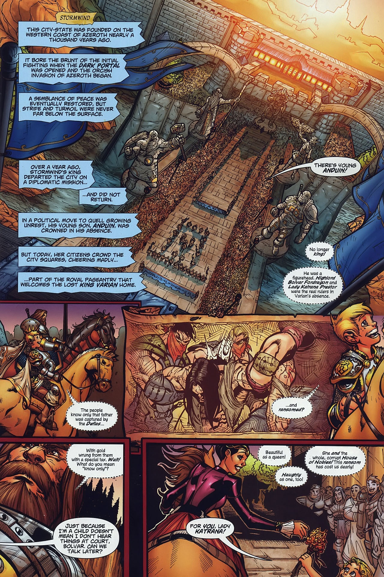 Read online World of Warcraft comic -  Issue #8 - 2