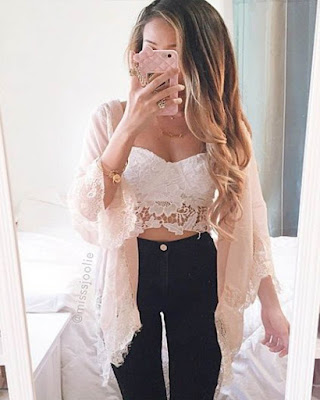 Outfits con BRALETTE tumblr auténticos de moda