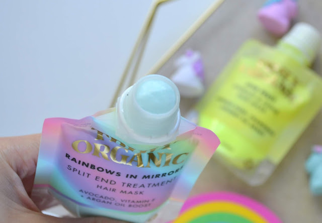 Truly Organic Rainbows in Mirrors, Star Fruit and the Star Kisser Jelly Lip Plumping Mask