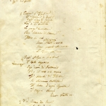 Mameli's original manuscript for Fratelli d'Italia