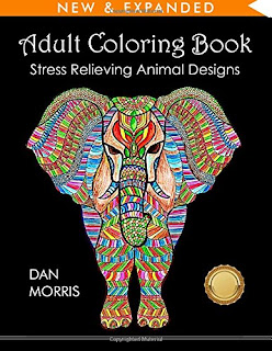 Adult Coloring Book with Animals