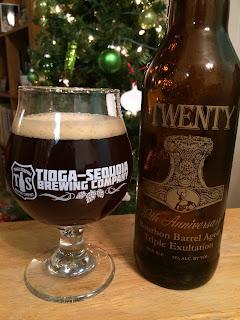 Eel River Twenty Anniversary Bourbon Barrel Aged Triple Ale 1
