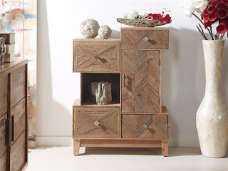 Mueble Auxiliar Natural Madera Andico