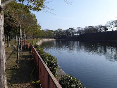 大阪城公園 北外堀