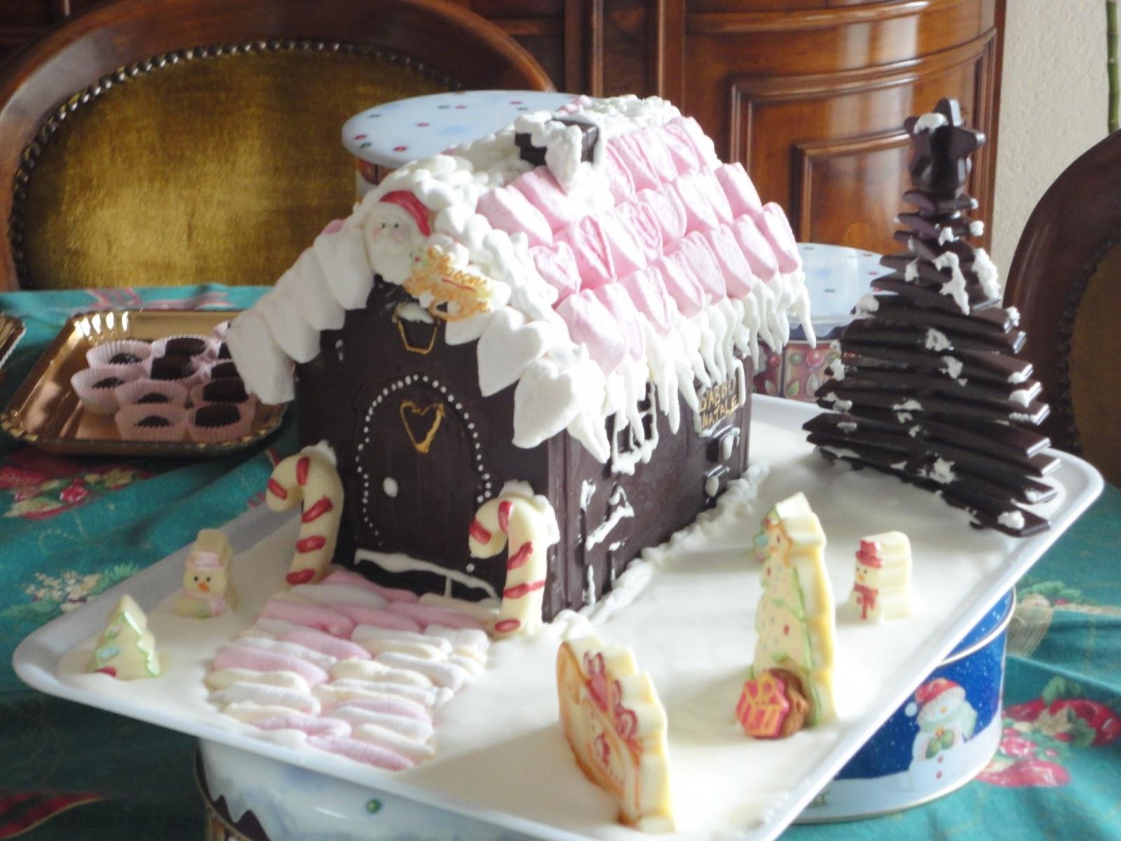 Casetta Di Natale Di Cioccolato : Bimbylandia casetta di cioccolato fondente e bianco natale