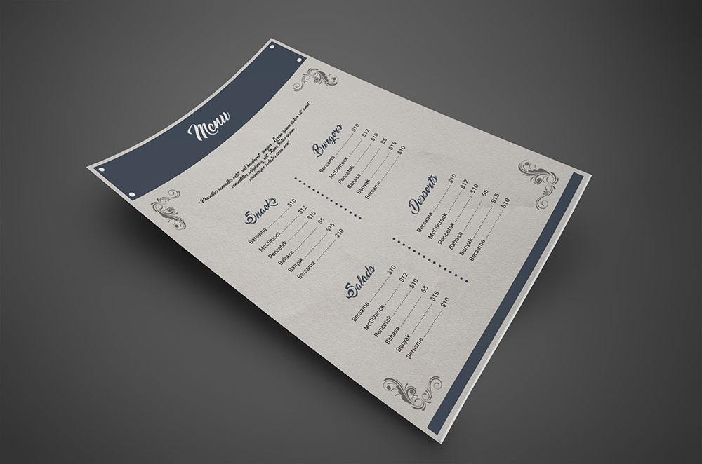 Free Restaurant Menu Templates in AI and PSD Format
