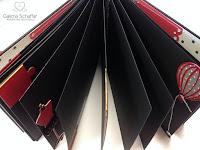 pomysły środek wnętrze albumu papierowe rękodzieło scrapki z wykrojników wrocław wojnowice schaffar